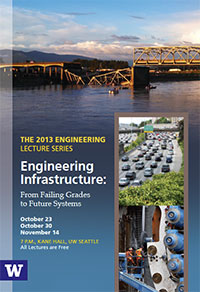 cover image, 2013 engineering lecture series brochure