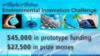 Environmental Innovation Challenge: $45,000 in prototype funding, $27,500 in prize money