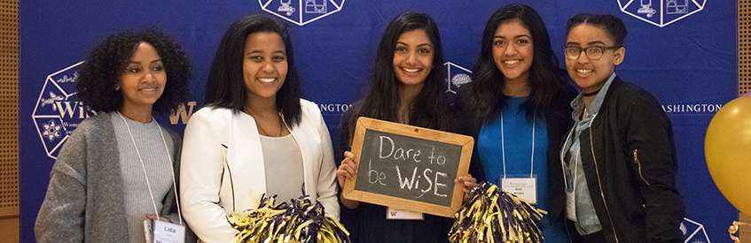 Women engineers at WiSE Conference