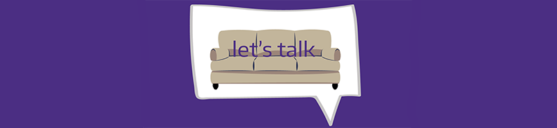 Hall Health's Let's Talk graphic
