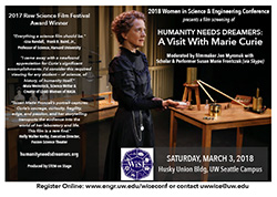 Marie Curie film flyer thumbnail image