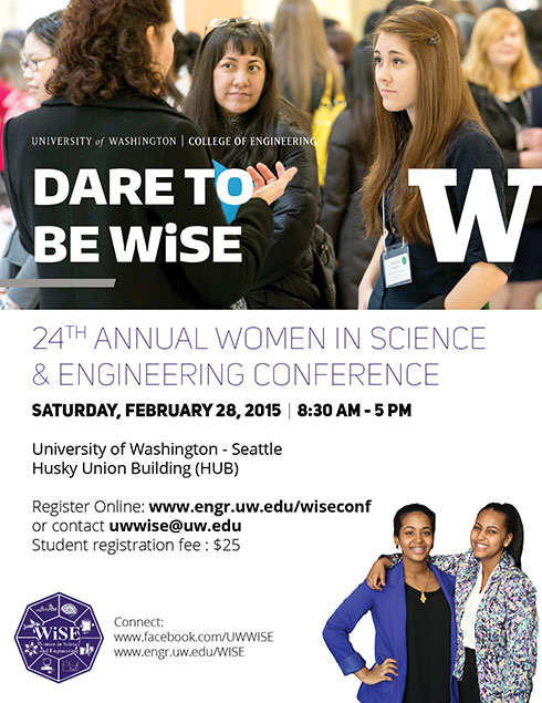 flyer and link for 2015 WiSE Conference