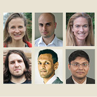 collage of 6 UW Engineering faculty members