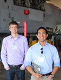 thumbnail image of students in front of aircraft
