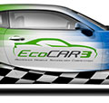 EcoCar 3 logo on race car