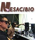 NESAC/BIO logo over photo of demo