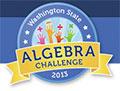 Washington State Algebra Challenge 2013 logo