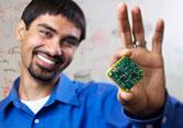 Shwetak Patel holding sensor circuit