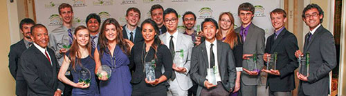 UW EcoCar2 team collecting 9 awards and 2nd place