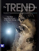 Autumn 2014 issue of The Trend in Engineering cover