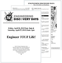 Discovery Days program and map