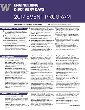 Engineering Discovery Days program