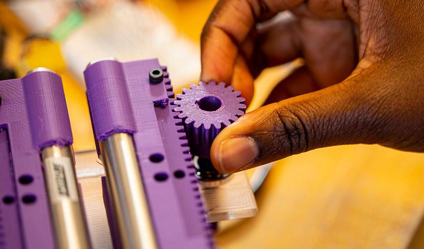Mechanical Engineering Student Senior Capstone Project