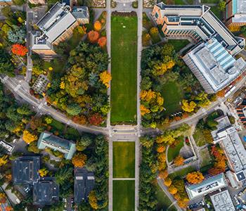 UW Campus Aerial Photo