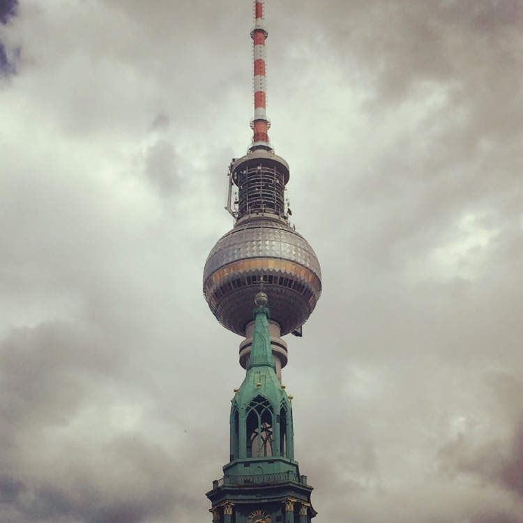 photo of an ornate tower in Berlin