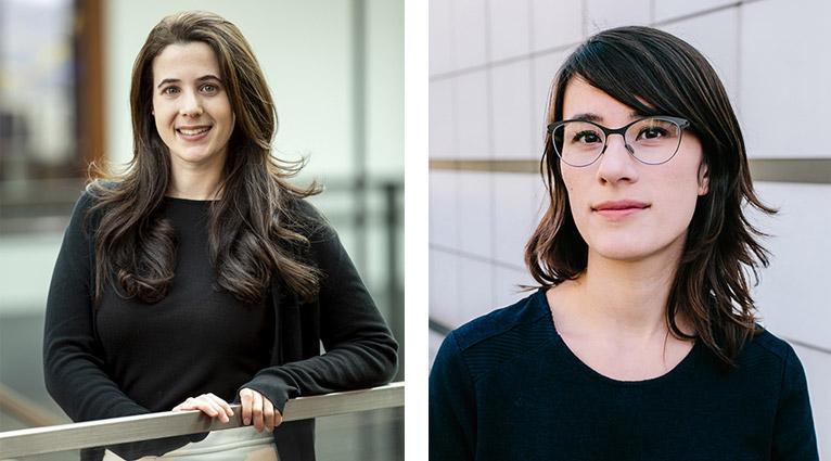 Adriana Schulz (CSE) and Nadya Peek (HCDE)