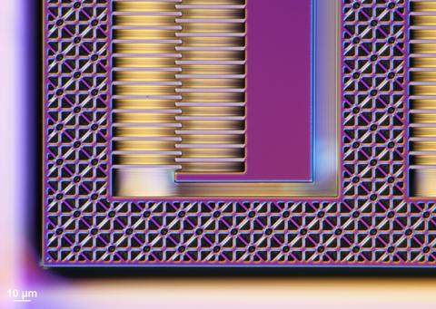 an electrostatic comb drive