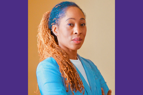 Portrait of Professor Karen Thomas Brown
