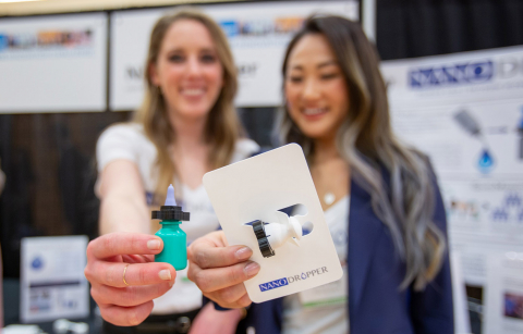 members of the nandropper team with nanodropper