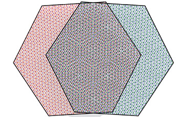 Illustration of a moiré pattern