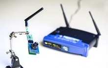 Wi-Fi router and a low-resolution camera. Credit: Dennis Wise/ University of Washington