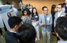 Students share their ideas at City Hall event
