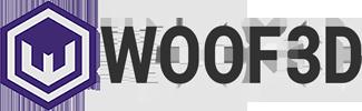 WOOF3D logo
